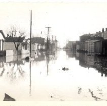 Image of Quincy Street - Mrs. E. Crawford Meyer 1945 Flood Photograph Collection