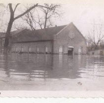 Image of  Van Buren Baptist Church - Mrs. E. Crawford Meyer 1945 Flood Photograph Collection