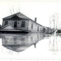Image of Anna Boyle's Grocery - Mrs. E. Crawford Meyer 1945 Flood Photograph Collection