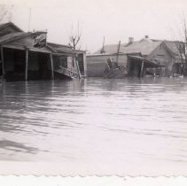 Image of Collett's Grocery - Mrs. E. Crawford Meyer 1945 Flood Photograph Collection