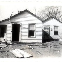 Image of Andy Hall's & Bob Hall's House - Mrs. E. Crawford Meyer 1945 Flood Photograph Collection