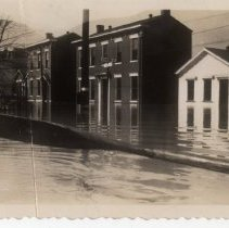 Image of 1600 block of Story Avenue - Mrs. E. Crawford Meyer 1945 Flood Photograph Collection