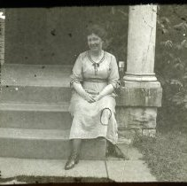 Image of Mrs. Grace Orlena Kelly Cromer - All-Prayer Foundlings Home Lantern Slide Collection