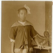 Image of Unidentified African American girl - Margaret Smith Photograph Collection
