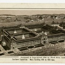 Image of Souther Exposition Main Building - Subject Photograph Collection