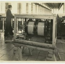 Image of Electric generator at the Southern Exposition - Subject Photograph Collection