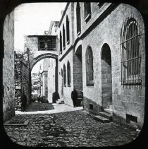Image of Arch of Ecce Home - All-Prayer Foundlings Home Lantern Slide Collection