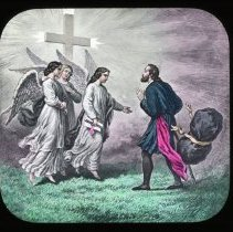 Image of The Three Shining Ones - All-Prayer Foundlings Home Lantern Slide Collection