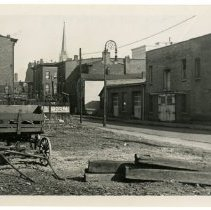 Image of Looking east from Eighth Street and Liberty Street, Louisville, Ky. - Josephine Gertrude Simmons Collection