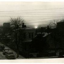 Image of Early morning, Eighteenth Street and Anderson Street, Louisville, Ky.  - Josephine Gertrude Simmons Collection