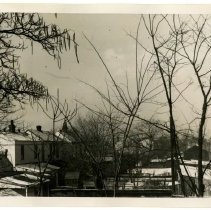 Image of View from rear window, Dixie Highway, Louisville, Ky.  - Josephine Gertrude Simmons Collection