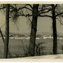 Image of Indiana Knobs, Shawnee Park, Louisville, KY, 1951 - Josephine Gertrude Simmons Collection