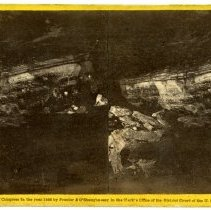 Image of Giants Coffin - Magnesium Light Views in Mammoth Cave