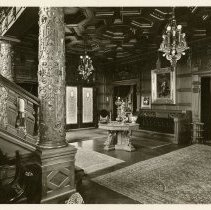 Image of Main Hall  - Ferguson-White Family Photograph Collection