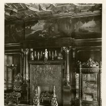 Image of Dining Room fireplace  - Ferguson-White Family Photograph Collection
