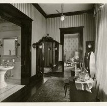 Image of Dressing room on second floor - Ferguson-White Family Photograph Collection