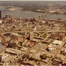 Image of Aerial View of Louisville, Kentucky - Subject Photograph Collection