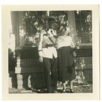 Image of Thaddeus and Mary - Lusby Family Photograph Collection