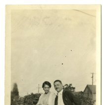 Image of Mary and Chauncey - Lusby Family Photograph Collection