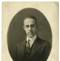 Image of Thaddeus Stephens Lusby, Jr.  - Lusby Family Photograph Collection