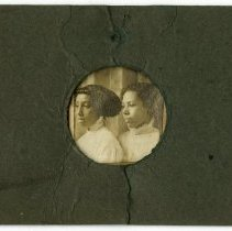 Image of Stella Lusby and Mattie Lusby - Lusby Family Photograph Collection