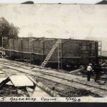 Image of Pier 5 Assembling Caisson [012PC49.001]
