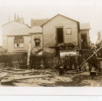 Image of Plant Office  - Turah Thurman Crull 1937 Flood Photograph Collection