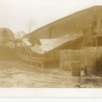 Image of Old Lick Oil Warehouse - Turah Thurman Crull 1937 Flood Photograph Collection