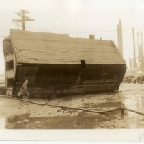 Image of House astray at Shelby and River Road - Turah Thurman Crull 1937 Flood Photograph Collection