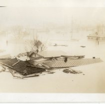 Image of Houses on Shelby Street  - Turah Thurman Crull 1937 Flood Photograph Collection