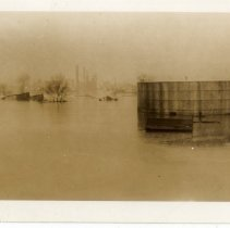 Image of Tanks flooded - Turah Thurman Crull 1937 Flood Photograph Collection