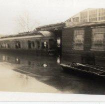 Image of Street Car - Turah Thurman Crull 1937 Flood Photograph Collection