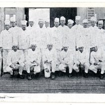 Image of Base hospital ward masters - Subject Photograph Collection