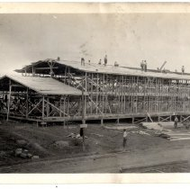 Image of Camp Zachary Taylor construction - Subject Photograph Collection