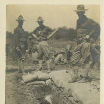 Image of Second line trench  - Subject Photograph Collection