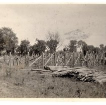 Image of Construction of a barrack - Subject Photograph Collection