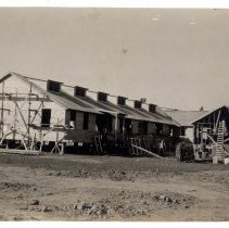 Image of Construction of Camp Zachary Taylor - Subject Photograph Collection