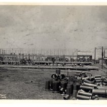 Image of Construction at Camp Zachary Taylor - Subject Photograph Collection