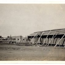 Image of Barracks under construction - Subject Photograph Collection