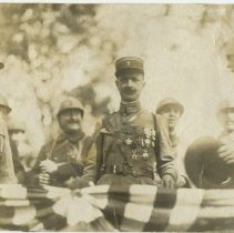 Image of Unidentified World War I officers - Subject Photograph Collection