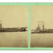 Image of Fourteenth Street Railroad Bridge                                                                                                                                                                                                                              - Wesley Cowan Photograph Collection