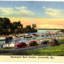 Image of Municipal Boat Harbor - Postcard Collection
