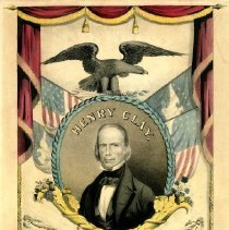 Image of Henry Clay Whig election banner - Print Collection