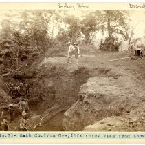 Image of Bath County iron ore mine                                                                                                                                                                                                                                      - Rogers Clark Ballard Thruston Mountain Collection