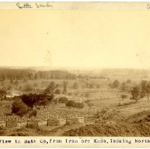 Image of Landscape view of Bath County                                                                                                                                                                                                                                  - Rogers Clark Ballard Thruston Mountain Collection