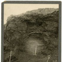 Image of Iron ore strata                                                                                                                                                                                                                                                - Rogers Clark Ballard Thruston Mountain Collection