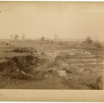 Image of Landscape view of rail tracks                                                                                                                                                                                                                                  - Rogers Clark Ballard Thruston Mountain Collection