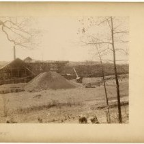 Image of Panoramic view of mining operations                                                                                                                                                                                                                            - Rogers Clark Ballard Thruston Mountain Collection