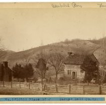 Image of Barner family cabins                                                                                                                                                                                                                                           - Rogers Clark Ballard Thruston Mountain Collection