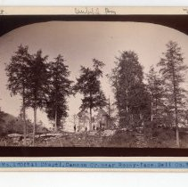 Image of Hill top chapel at Cannon Creek                                                                                                                                                                                                                                - Rogers Clark Ballard Thruston Mountain Collection